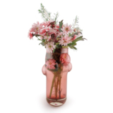 GIVERNY Vase Rose + Flowers - Design Vanessa Mitrani